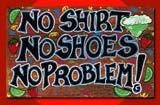Chaussures interdites à bord