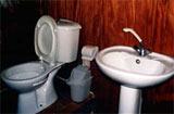 Toilette à bord