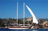 Yacht de croisière de la Turquie